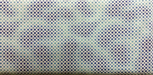 Quilting Treasures Blue Ombre Dots