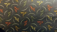 MODA Kansas Troubles Pheasant Hill dark blue with gold, wine, green accents 9382