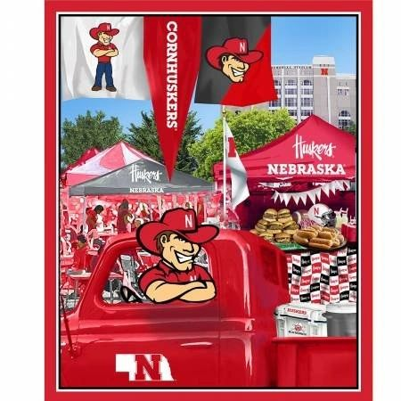 Nebraska Husker digitally printed panel