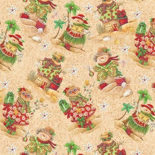 Holiday Beach sandmen by Blank Quilting