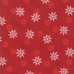 Moda Holiday Lodge Red Snowflakes