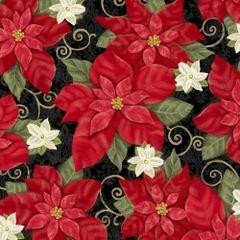 Studio E Winter Bliss Poinsettias Holiday White Flowers
