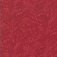 Moda Winter Manor Holiday Red Floral