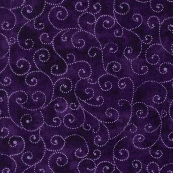 Moda Marble Swirls Key West Purple