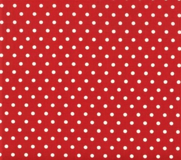 Moda Bubble Pop Red White Dots