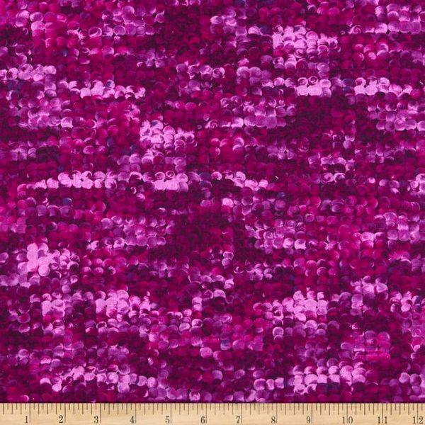Kanvas Studio Blooming Beauty Purple Violet Delightful Dots