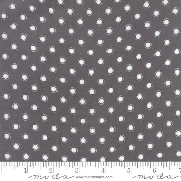 Moda Bloomington gray with light dots