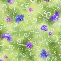 QT Hydrangea Blossoms 1649-27530-H