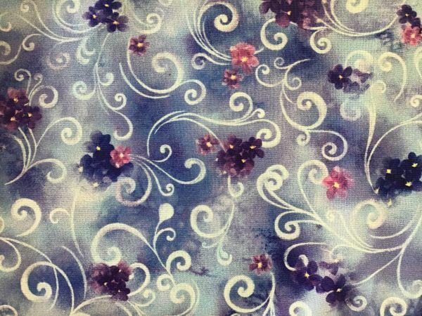 QT Hydrangea Blossoms 1649-27530-V