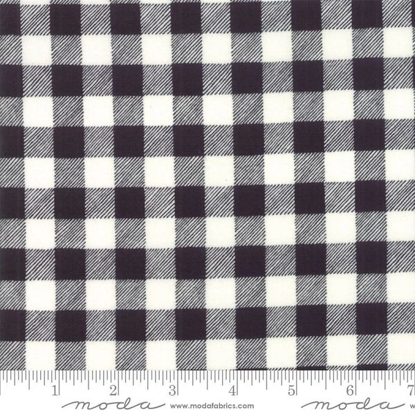Moda homegrown holidays 19897 13 Black white check