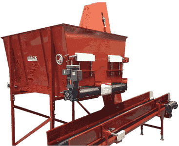 compact double Potter  highly versatile double hopper version. potting machines for sale