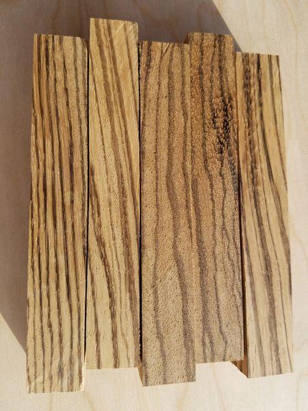 Zebrawood Pen Blanks, 10 pc. pack