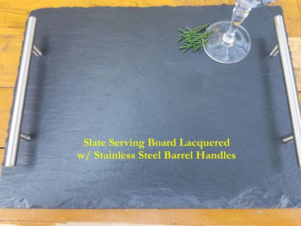 Premium Grade Slate Serving Trays