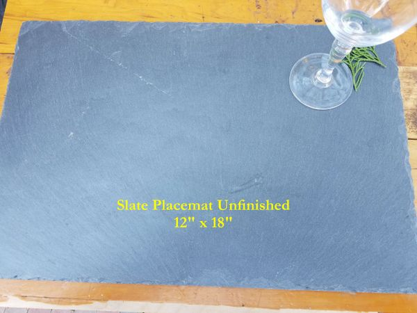 Premium Grade Slate Placemats