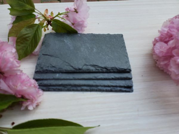 "3"" Premium Grade Square Slate, 10 pc. set, $6.95 SHIPPING WITHIN THE CONTINENTAL U.S.!!"