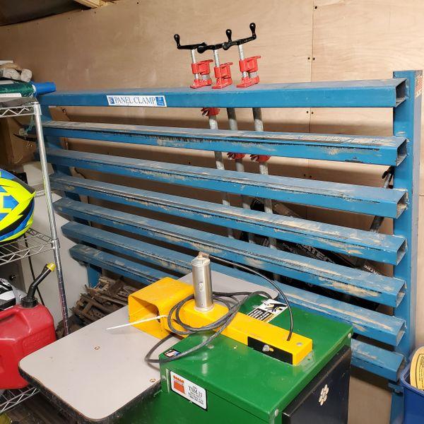 JLT Glue 6' clamp rack