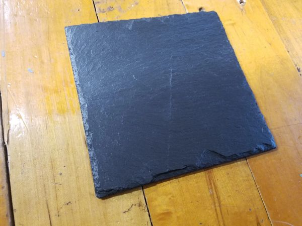"6"" Reclaimed Buckingham Slate Trivet, 4 pc. set"