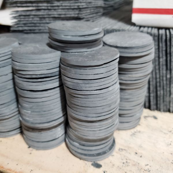 "2"" Premium Grade Round Slate, 10 pc./Case, FREE SHIPPING WITHIN THE CONTINENTAL U.S. ONLY!!"