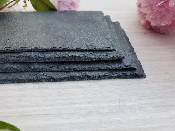 """5""""x 7"""" Reclaimed Slate Plaques, 10 pc. set, ONLY $7.95 SHIPPING!!"""
