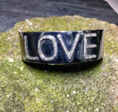 LOVE Diamond Bangle