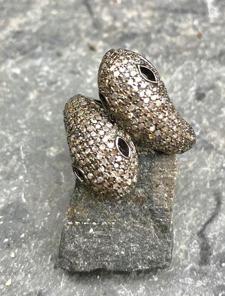 Double Headed Snake Ring