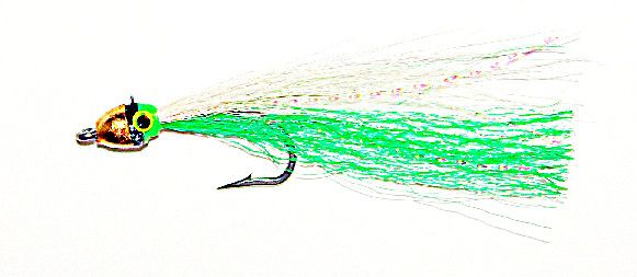 Jiggy green/white