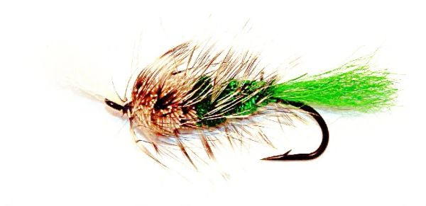 Bomber Salmon Fly natural/green