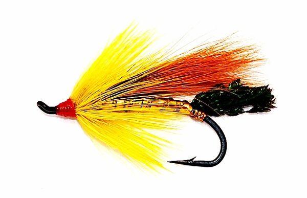 Gold Cossebom Golden Salmon Fly