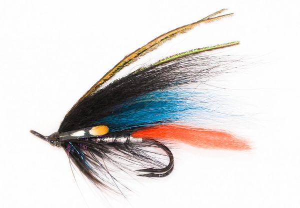Mikkeli Blue Salmon Fly double hook