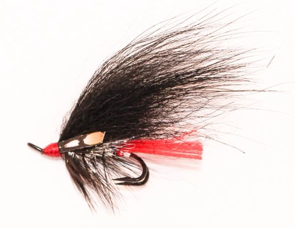 Red Butt Salmon Fly double hook