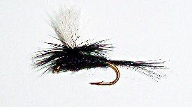 Black Gnat parachute dry fly