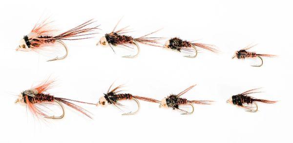 8 pcs. BH Pheasant Tail Mixed Multi Pack