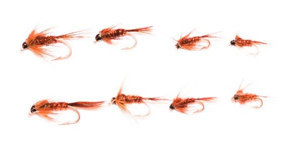 8 pcs. Pheasant Tail Mixed Multi Pack