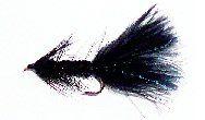 Wolly Bugger black 12 pcs. set size