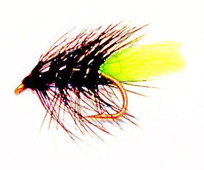 Zulu Green Tail wet fly