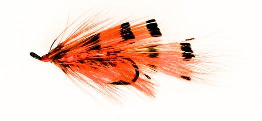 General Practioner Salmon Fly single hook