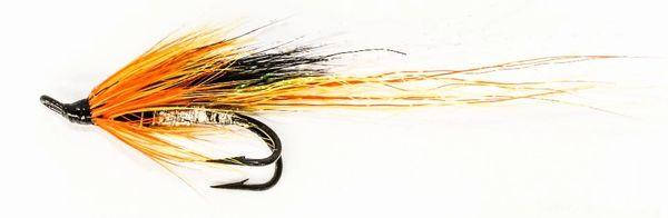 Ally's Cascade Shrimp Salmon Fly double hook