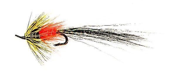 BLACK FRANCES DOUBLE HOOK SHRIMP SALMON.