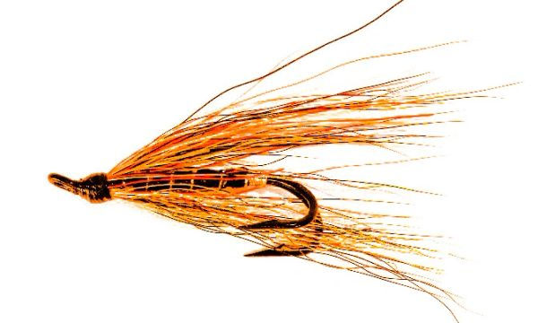 Willie Gun Salmon Fly double hook