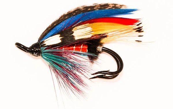 McIntyre Salmon Fly double hook