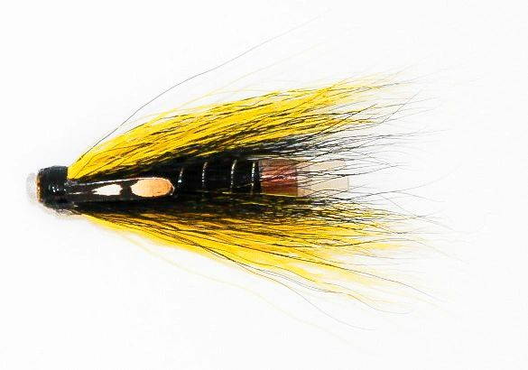 Tosh Black and Yellow - Copper Tube Fly