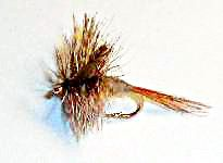 March Brown Dry Fly 12 pcs. set size