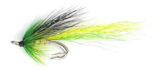 Ally's Cascade Highlander Salmon Fly double hook