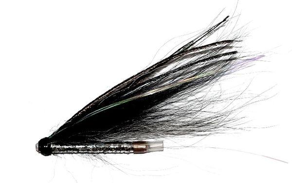 Sunrays Shadow Black - Copper Tube Fly