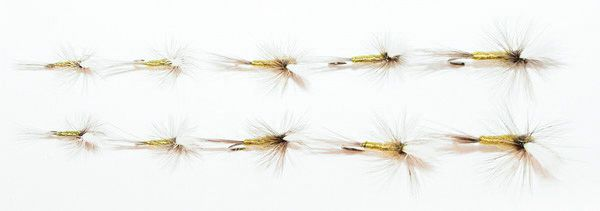 10 pcs. Blue Winged Olive Mixed Multi Pack