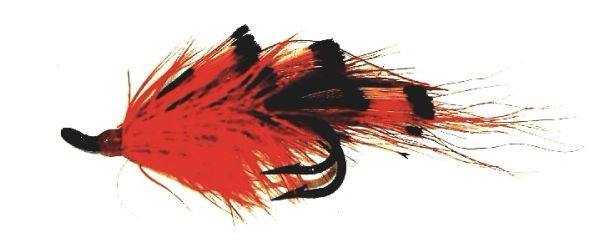 General Practioner Salmon Fly double hook