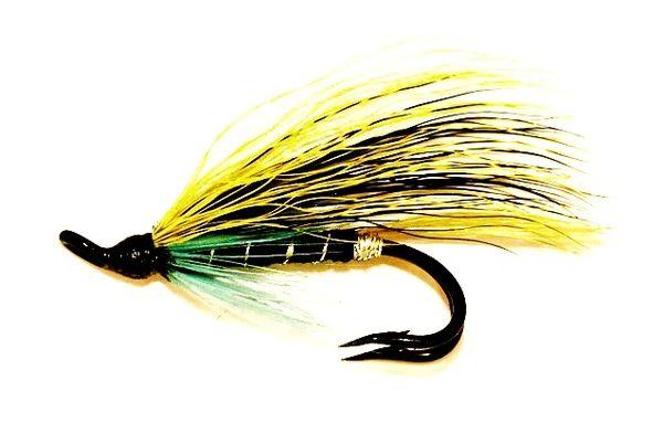 Blue Charm Salmon Fly double hook