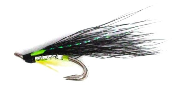 Silver Tosh Salmon Fly double hook