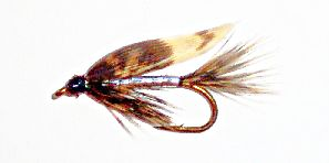 March Brown silver wet fly