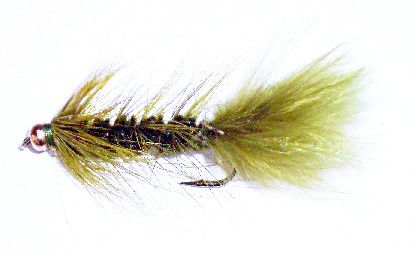 BH Wolly Bugger olive